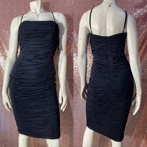 Dresses & Skirts - Beautiful Ruched Black Dress